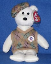 Ty Tour Teddy the Bear Beanie Baby - Mint with Mint Tag