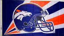 New listing Denver Broncos em Helmet Flag New 3x5 ft nfl au