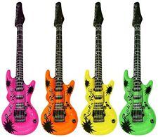 Luft Gitarre verfügbar gelb, orange, grün, pink 107cm