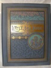 Antique 1895 Little Lad Jamie Children's' Book HC Raised Lettering Gold 1st ED