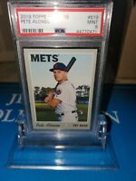 2019 Topps Heritage High #519  Pete Alonso  PSA 9 MINT Rookie Roy N.Y METS🍎🔥🍎