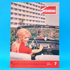 Der Deutsche Straßenverkehr 7/1972 DDR Trabant Auerbach Saporoshez Opel Kadett F