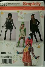Simplicity 2525 Women's Cosplay Hero Cool Costume Pattern New Complete Uncut