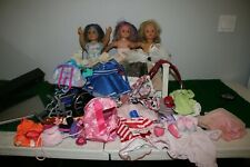 American Girl, Pottery Barn Gotz, Alexander Dolls w/ Bed, clothes accessories