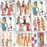 McCalls Sewing Pattern Misses Swimsuit Bathing Suit Swimwear You Pick