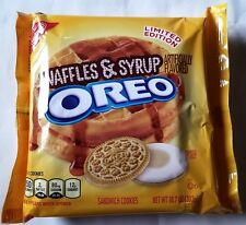 NEW Nabisco Oreo Waffles & Syrup Limited Edition Cookies FREE WORLDWIDE SHIPPING