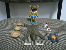 Playmobil - Western Oeste Indios - Brujo Hechicero Guerrero  - 3877 - (COMPLETO)