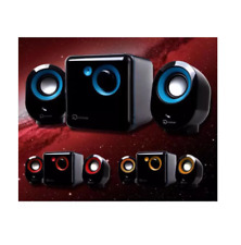 Keposon KP-2000 Surround Sound with 3D Stereo Computer Multimedia - Blue