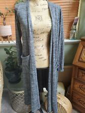 LulaRoe Sarah Sweater Med Grey Heathered soft