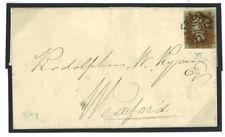 424a 1841 GB IRELAND Dublin MX Penny Red ex BLACK PLATE XI 4 Margin{NH} Cat £350