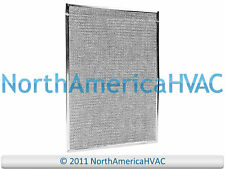 2x OEM Intertherm Nordyne Furnace A-Coil Air Filter Aluminum Mesh 16.5x23 911329