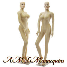 Female mannequin + metal stand, sexy woman +, full body manikin-Sp24+2Wigs