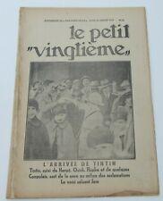 TINTIN HERGE PETIT VINGTIEME 1931 NO 29  BON ETAT