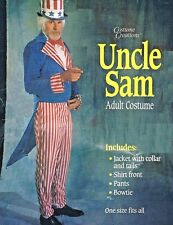 Uncle Sam Adult Costume July Fourth 4 00004000 th Patriotic Memorial Day Usa Flag Parades