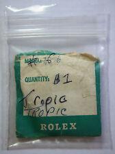 Genuine Rolex 6 Tropic Plastic Plexi Acrylic Watch Crystal 25-6