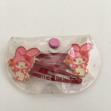 Vintage Sanrio My Melody Hair Clips 1976 Collectible New In Package Japan