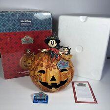 "Jim Shore Walt Disney Showcase by Enesco "" A Spellbinding Halloween"" 4008070"