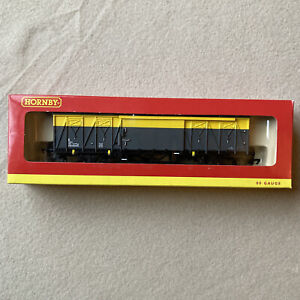 Hornby R6263 OO Gauge Railfreight ZSX DB768980 Sliding Door Wagon EX Con Boxed