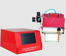 """7"""" LCD Screen 100*20mm Pneumatic dot peen marking Priter Metal engraving machine"""