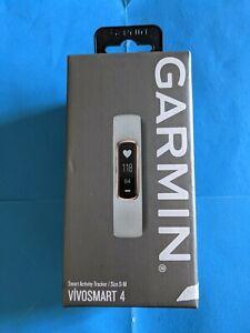 NEW in Box Garmin Vivosmart 4 Smart Activity Tracker Size S-M (Gray Rose Gold)