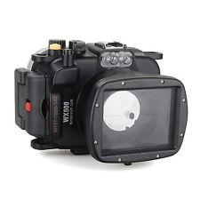 Meikon 40m/130ft Underwater Waterproof Diving Camera Housing case for Sony WX500