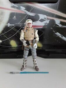 "Star Wars Luke Skywalker Hoth The Black Series 3.75"" Figur, Hasbro!"