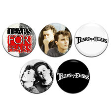 5x Tears For Fears 80's Pop Rock New Wave Band 25mm / 1 Inch D Pin Button Badges