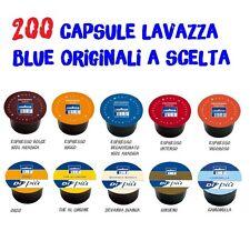 200 CIALDE CAPSULE CAFFE' LAVAZZA BLUE BLU DOLCE RICCO INTENSO VIGORO DEK SCELTA