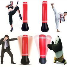 1.5M Inflatable Adults Children Punching Bag Stand Power Tower Free-Standing Fit