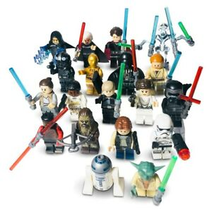 DARTH VADER LEGO MINIFIGURE & CUSTOM STAR WARS MINI FIGURES SET BUNDLE JOB LOT