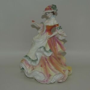 Royal Doulton figurine Rose HN3709   Flowers of Love   Valerie Annand   UK made
