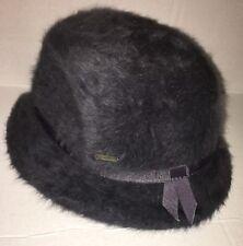 KANGOL Furgora Trilby Grey Angora Hat NWT Brand New Small