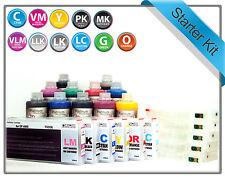Refillable Starter kit for Epson Stylus Photo 4900 11 x Cartridges T6531 T6539