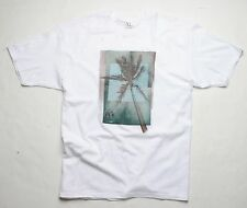 Nixon Palmera Hawaii Reg Smu Camiseta (L) Blanco S1622100-04