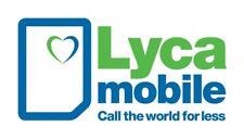 LYCAMOBILE DATA FLAT 7 GB  ? INTERNET ? Prepaid SIM Karte ? Vodafone ? LTE