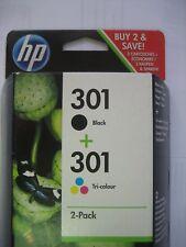c3r40ee HP ORIGINAL HP 301 negro + color para DJ DESKJET 3057 3059 3054 3055