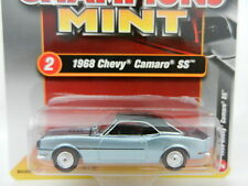 2017 RC 1:64  RACING CHAMPIONS MINT 2A = Blue 1968 Chevrolet Camaro SS *NIP*
