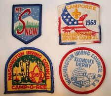 COLLECTION OF 4 VINTAGE  BOY SCOUT BADGES NO RESERVE
