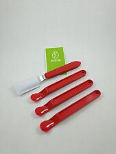 Scotty Peeler Label & Sticker Remover 3 Originals Red SP-1 & 1 Metal Blade SP-2
