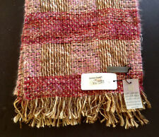 Enrico Coveri Ladies Pink Knit Scarf Made in Italy NWT