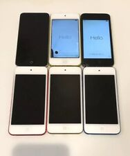 AS IS Lot 6x Apple iPod touch 5th/6th Generation FOR REPAIR/PARTS