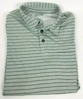 Duluth Trading Co Armachillo Cooling Short Sleeve Polo Shirt Men's Sz L