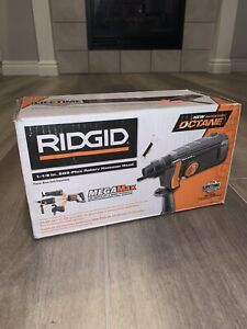 🔥NEW Rotary Hammer Orange 1-1/8 In SDS Plus Variable Speed Cordless Tool