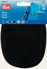 Prym Patches Cord Can Be Ironed 10 X 14cm Black 929320