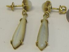 ANTIQUE  ART DECO DANGLING 1/20-12K GOLD FILLED( PLATED) EARRINGS