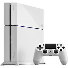WHITE Playstation 4 PS4 500GB CONSOLE & CONTOLLER - PRE-OWNED