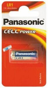 Lot Piles / Cells boutons LR1 de marque Panasonic, en lot ou à l'unité