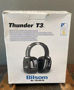 Bilsom Thunder T3 Shooting Ear Protection Noise Reduction Gun Hearing Muffs NIB