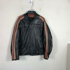 Vintage Motorcycle Bomber Jacket Men's XL Cafe Racer Jacket Wilsons Leather
