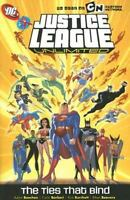 NEW - SEALED Justice League Unlimited: The Ties That Bind Soft Cover